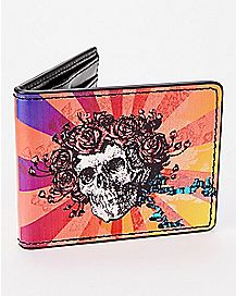 Skull Grateful Dead Bifold Wallet