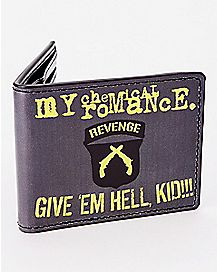 Give 'Em Hell Kid My Chemical Romance Bifold Wallet