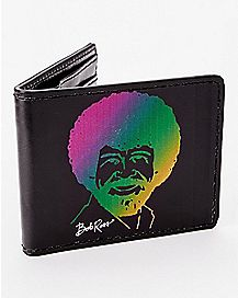 Rainbow Bob Ross Bifold Wallet
