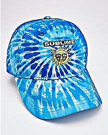 Tie Dye Blue Sublime Dad Hat