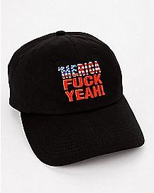 'Merica Fuck Yeah Dad Hat