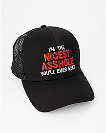 Nicest Asshole You'll Ever Meet Trucker Hat