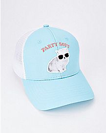 Party Soft Kitten Trucker Hat