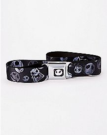 Jack Skellington Head Seatbelt Belt - The Nightmare Before Christmas
