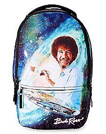 Galaxy Bob Ross Backpack