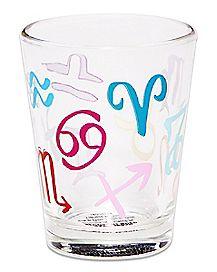 Zodiac Signs Shot Glass - 1.5 oz.