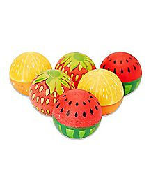 Fruit Beer Pong Balls - 6 Pack