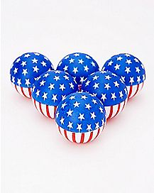 USA Beer Pong Balls - 6 Pack