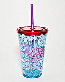 Stay Wild Moon Child Cup With Straw - 16 oz.