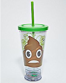 Fart Sound Poop Cup With Straw - 16 oz.