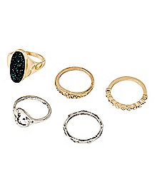 Space Rings - 5 Pack