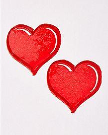 Edible Heart Pasties - Cinnamon