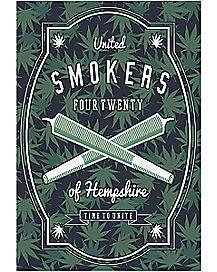 United Smokers of Hempshire Poster