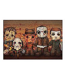 Killer Line Up Poster