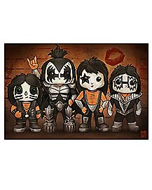 Line Up Kiss Poster
