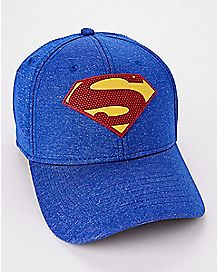 Rubber Logo Superman Flex Hat - DC Comics