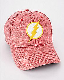 Rubber Logo The Flash Flex Hat - DC Comics