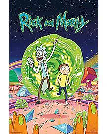 Cover Rick and Morty Poster
