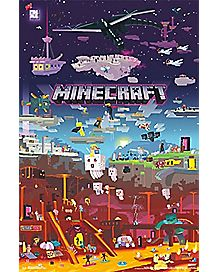 World Beyond Minecraft Poster