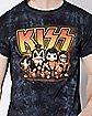 Tie Dye Kiss T Shirt