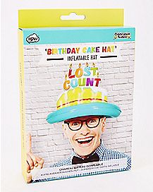 Lost Count Inflatable Birthday Cake Hat