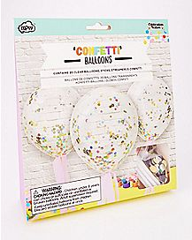 Confetti Balloons - 20 Pack