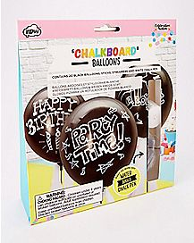Chalkboard Balloons - 20 Pack