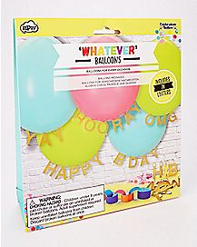 Whatever Balloons - 20 Pack