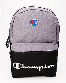 Black and Gray Backpack - Champion