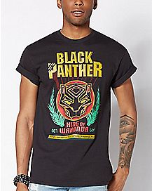 King Of Wakanda Black Panther T Shirt - Marvel