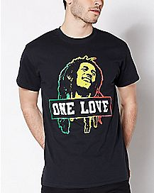 572238a9d2e6 Official Bob Marley T Shirts & Merchandise - Spencer's