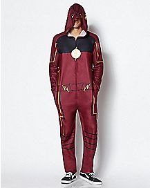 f062c516ae1a Light-Up Flash Pajama Costume - DC Comics