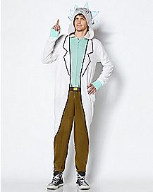 58e0b3206202 Rick Pajama Costume - Rick and Morty