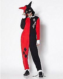Harley Quinn Pajama Costume - DC Comics