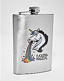 Fucking Magical Unicorn Flask - 8 oz.