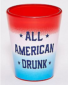 All American Drunk Shot Glass - 1.5 oz.
