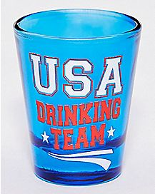 USA Drinking Team Shot Glass - 1.5 oz.