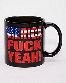 'Merica Fuck Yeah Coffee Mug - 20 oz.