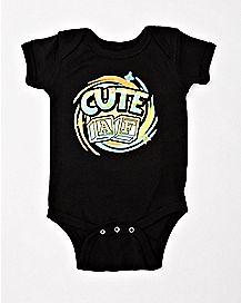 Cute AF Baby Bodysuit