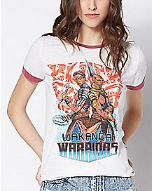 Wakanda Warrior T Shirt - Black Panther