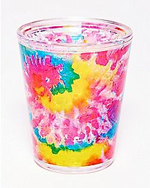 Freezer Tie Dye Shot Glass - 2 oz.
