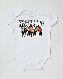 Legends Never Die Baby Bodysuit - The Sandlot
