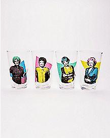 Golden Girls Pint Glasses 4 Pack - 16 Oz.