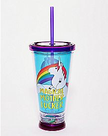 Magical Mother Fucker Cup With Straw - 16 oz.