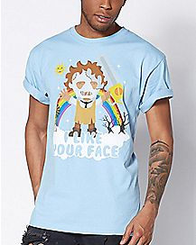 I Like Your Face Texas Chainsaw Cutie T Shirt