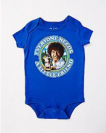 Little Friend Bob Ross Baby Bodysuit