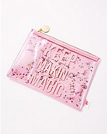 Keep Makin' Magic Glitter Pouch