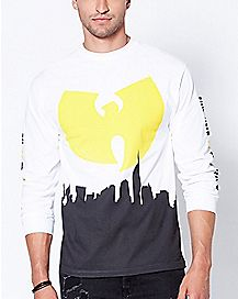 Cityscape Long Sleeve Wu-Tang T Shirt