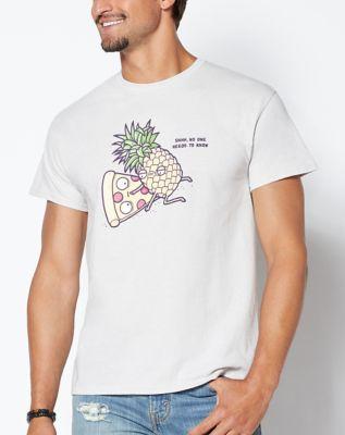 Forbidden Love Pineapple Pizza T Shirt