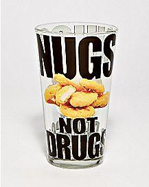 Nugs Not Drugs Pint Glass - 16 oz.